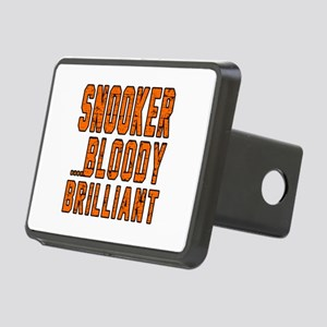 Snooker Bloody Brilliant D Rectangular Hitch Cover