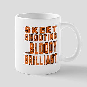 Skeet shooting Bloody Brilliant Designs Mug