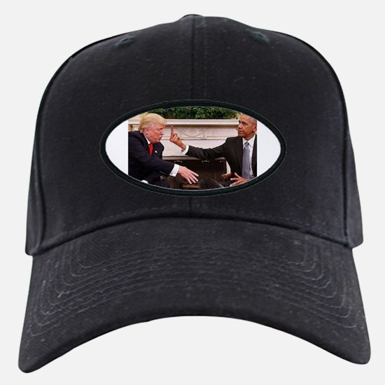 barack obama giving donald trump the mid Cap