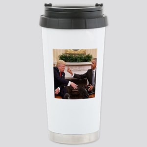 barack obama giving don Stainless Steel Travel Mug