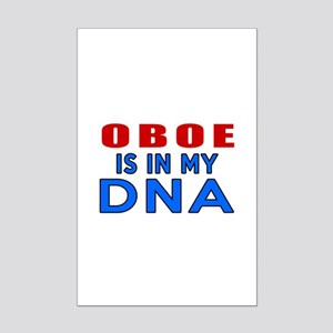 oboe Is In My DNA Mini Poster Print