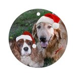 Maisey and Harry Ornament (Round)