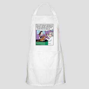 Cat Owner Medicine BBQ Apron