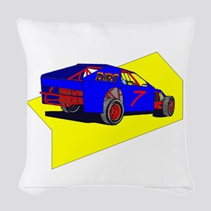 Dirt Modified Woven Throw Pillow