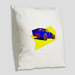 Dirt Modified Burlap Throw Pillow