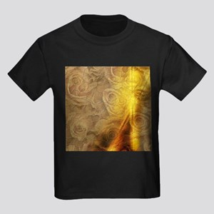 Vintage design with roses T-Shirt