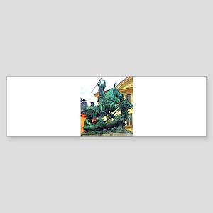 History's Warrior Bumper Sticker