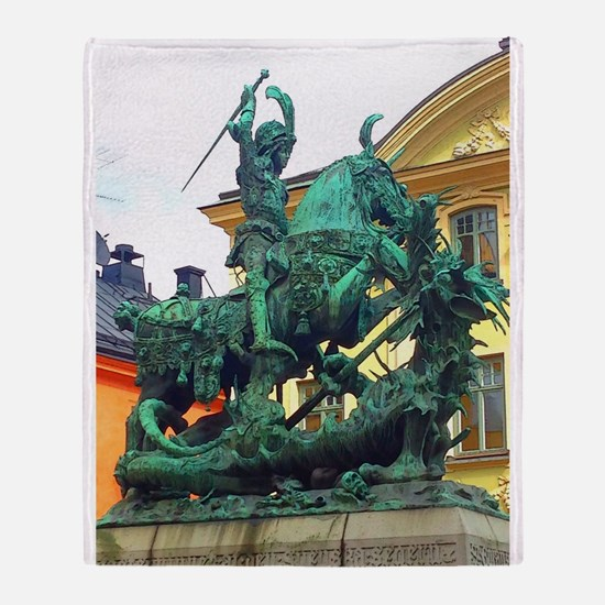 History's Warrior Throw Blanket