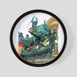 History's Warrior Wall Clock