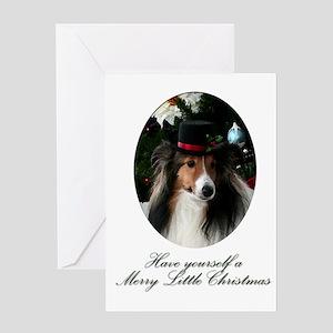 Merry Little Sheltie Sheltie Card