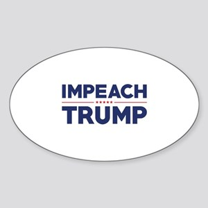 Impeach Trump Sticker (Oval)