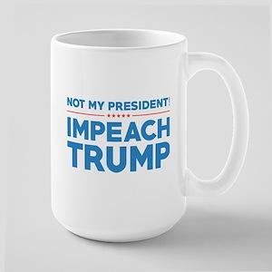 Impeach Trump Large Mug