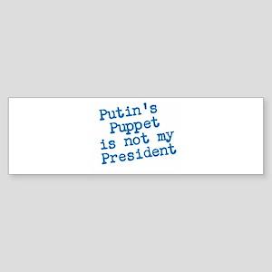 Putins Puppet Bumper Sticker
