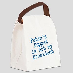 Putins Puppet Canvas Lunch Bag