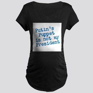 Putins Puppet Maternity T-Shirt