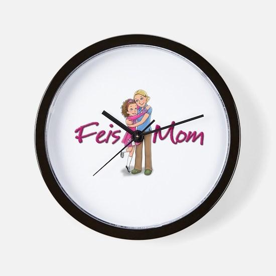 Feis Mom Irish Dance Wall Clock