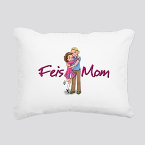 Feis Mom Irish Dance Rectangular Canvas Pillow