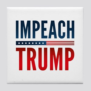 Impeach Trump Tile Coaster