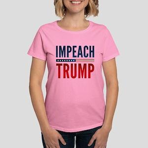 Impeach Trump Women's Dark T-Shirt
