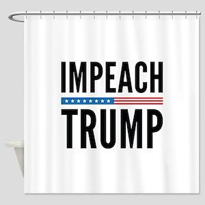 Impeach Trump Shower Curtain