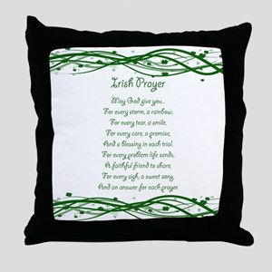 irishprayer Throw Pillow