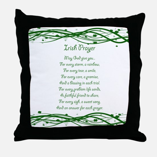 irishprayer.png Throw Pillow