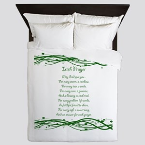 irishprayer Queen Duvet