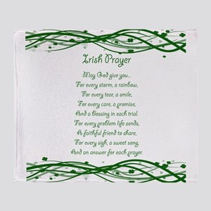 irishprayer Throw Blanket