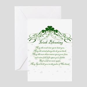 irishblessing Greeting Cards