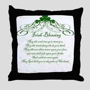 irishblessing Throw Pillow