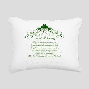 irishblessing Rectangular Canvas Pillow