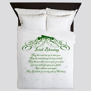 irishblessing Queen Duvet
