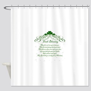 irishblessing Shower Curtain