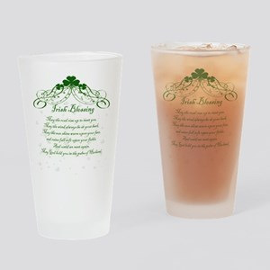 irishblessing Drinking Glass