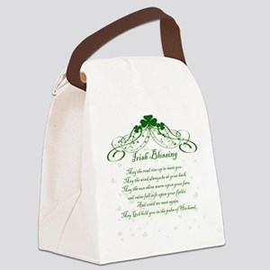 irishblessing Canvas Lunch Bag