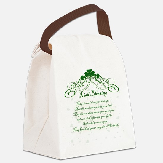 irishblessing.png Canvas Lunch Bag