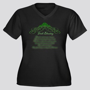 irishblessing.png Plus Size T-Shirt