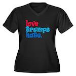 Love Trumps Hate Plus Size T-Shirt