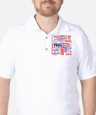 freedom.png Golf Shirt