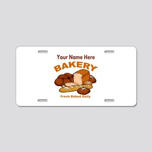 Fresh Baked Bread Aluminum License Plate