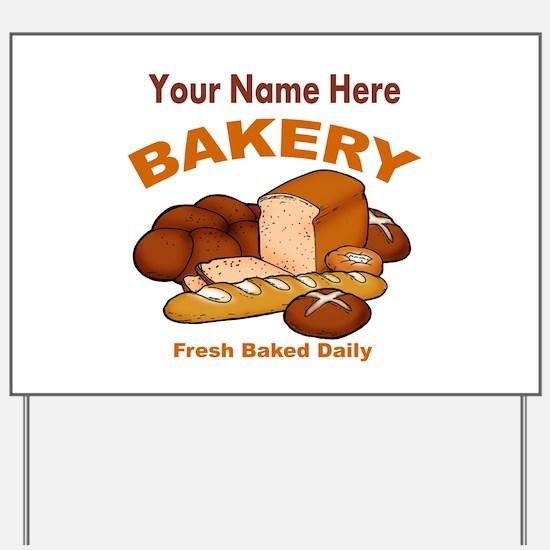 Fresh Baked Bread Yard Sign