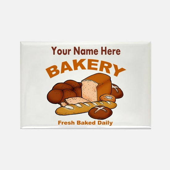 Fresh Baked Bread Magnets