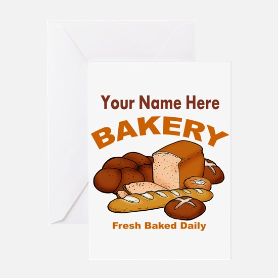 Fresh Baked Bread Greeting Cards