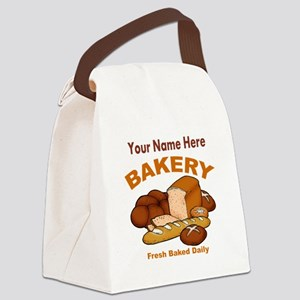Fresh Baked Bread Canvas Lunch Bag
