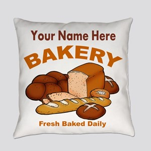 Fresh Baked Bread Everyday Pillow