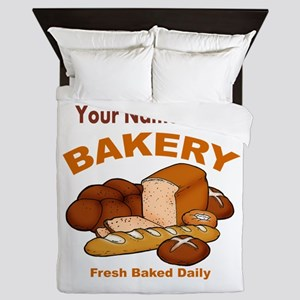 Fresh Baked Bread Queen Duvet