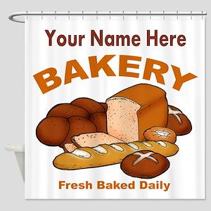 Fresh Baked Bread Shower Curtain