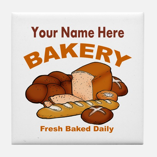 Fresh Baked Bread Tile Coaster