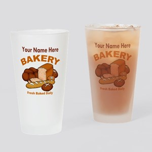 Fresh Baked Bread Drinking Glass