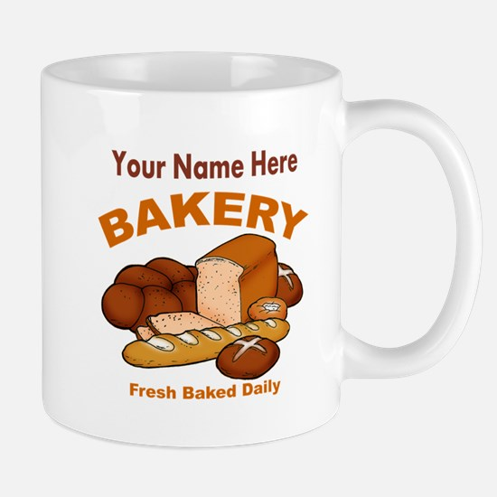 Fresh Baked Bread Mugs